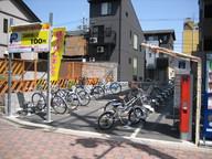 フルーツ自転車パーク京阪清水五条駅